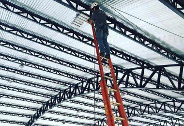 Execução do projeto de iluminação do SESC Ponta Grossa!